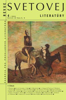 Revue svetovej literatúry 4/2016